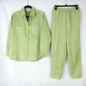 Allyson Whitmore Lime Green Casual Wear